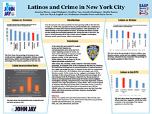 Latinos and Crime in New York City