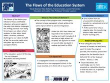 the flaws of the american educational system A sociological perspective of the american education of federal educational initiatives reform policies and how the american school system has.