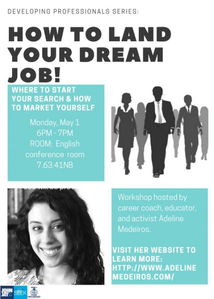 How to Land Your Dream Job Flyer