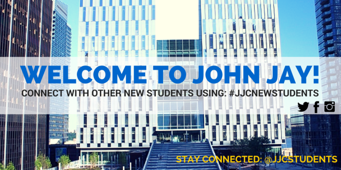 Welcome to John Jay, #jjcstudents