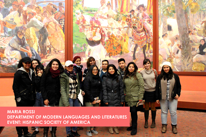 Maria Rossi - Department of Modern Languages and Literatures - Event Hispanic Society of America