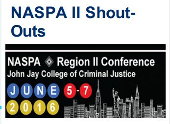NASPA Region II Conference