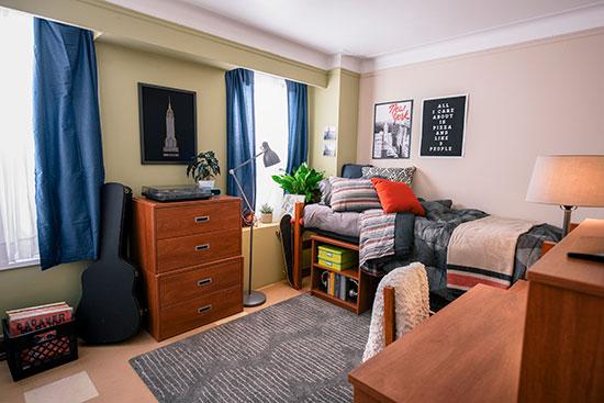 New Yorker Single Bedroom