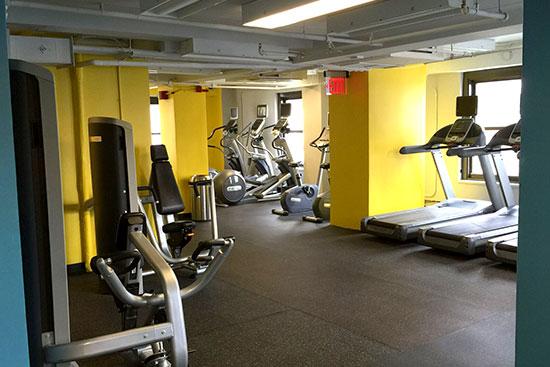 New Yorker housing Gym