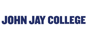 John Jay and CUNY logo with text