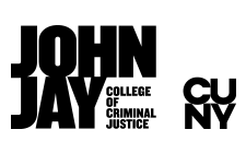 John Jay and CUNY logo black