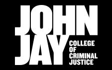 John Jay logo White text