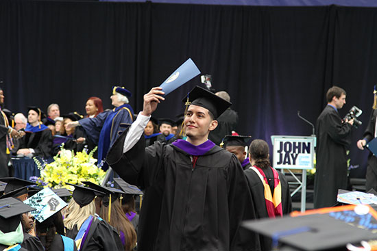 John Jay College Commencement at the Arthur Ashe Stadium