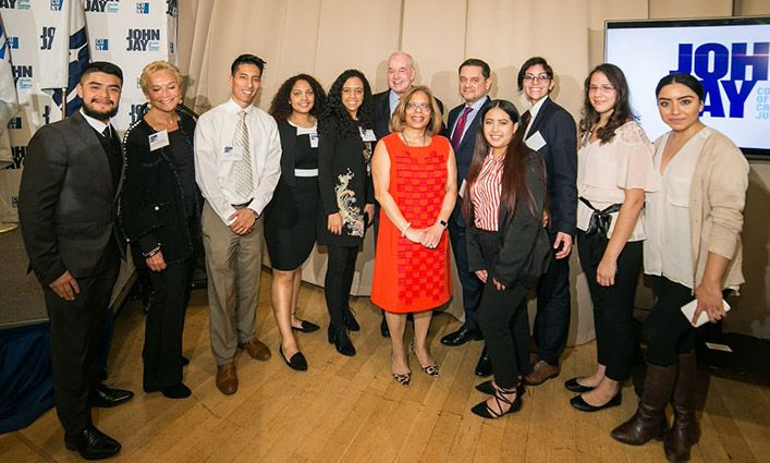 """Champions of Justice"" Scholarship Reception Celebrates Students and Thanks Donors"