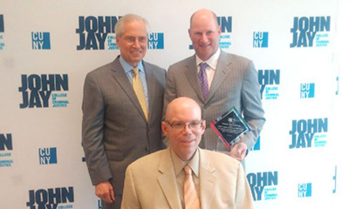 John Jay College Foundation Trustee Charles Hammerman honored with CUNY and John Jay College ADA25 award