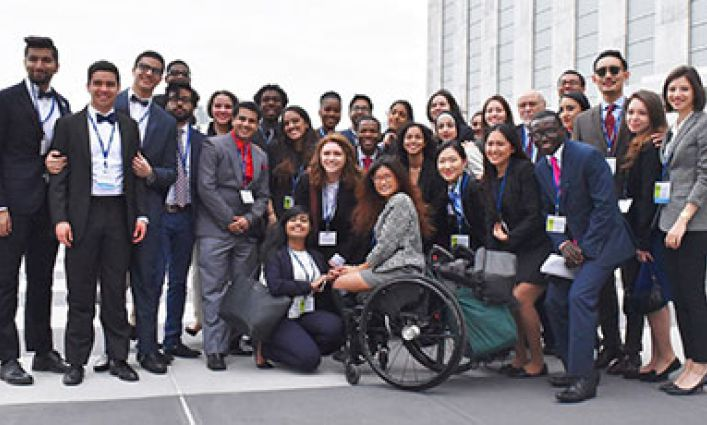 John Jay's Model United Nations Team Wins First Place at the 2016 National Model U.N. Conference