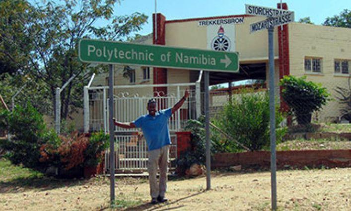 Professor Dante Tawfeeq, Fulbright Scholar, Looks at STEM Education in Namibia