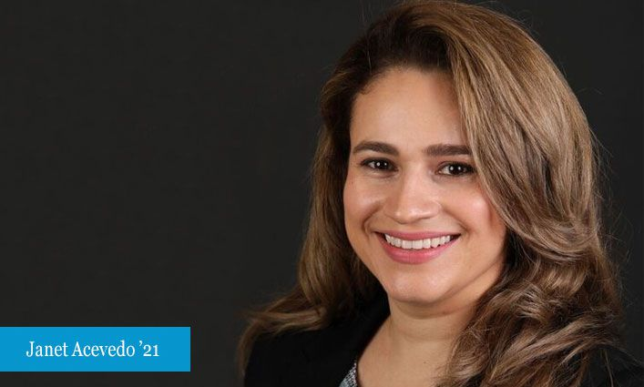 CUNY Justice Academy Paves the way for Janet Acevedo's '21 Dream of Becoming a Judge