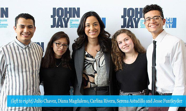 Council Member Carlina Rivera Inspires Students at Emerging Leaders Series