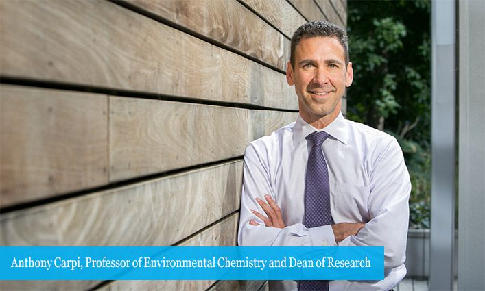 Professor Anthony Carpi Named AAAS 2019 Fellow for His Work in Advancing Underrepresented Groups in STEM Professions