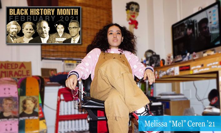 """Malcolm/King Award Winner Melissa """"Mel"""" Ceren '21 Combines Art and Research to Uplift Communities of Color"""