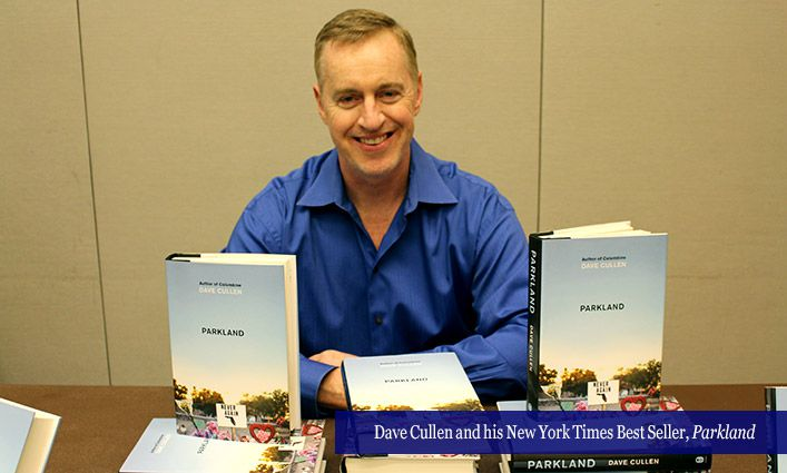 Author Dave Cullen Talks About His Book Parkland and the Student-led Gun Control Movement