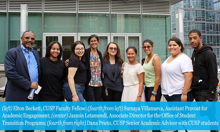 CUSP Welcomes Seniors, Offering Them a Clear Path to Success