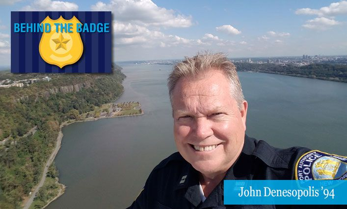 Behind the Badge: John Denesopolis '94, Police Command Professional for the Port Authority Police Department
