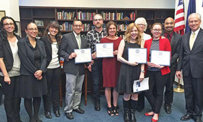 Ceremony Hails John Jay Faculty's Best