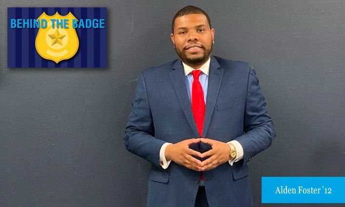Behind the Badge: Alden Foster '12, NYPD Director of Youth Services and Community Engagement