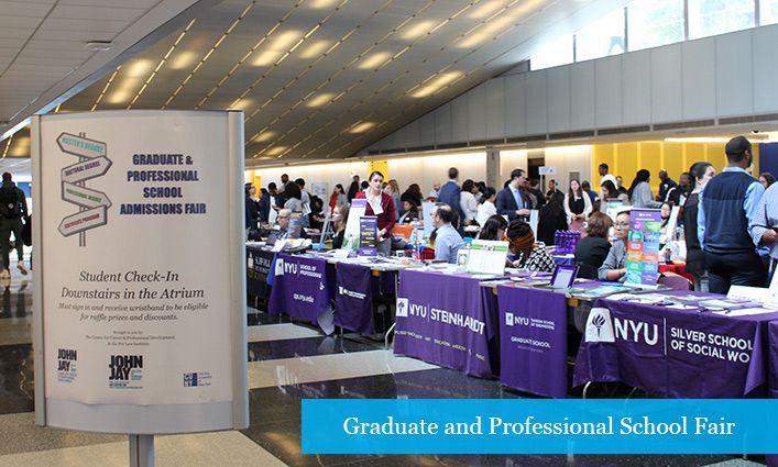 Fall 2019 Graduate and Professional School Fair Provides Opportunities for Postgraduate Education