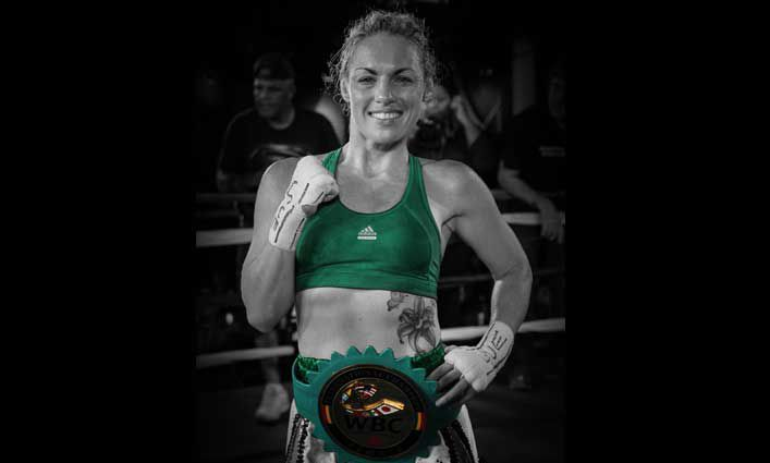 Boxing Champ Heather Hardy '05 Gives Knockout Advice