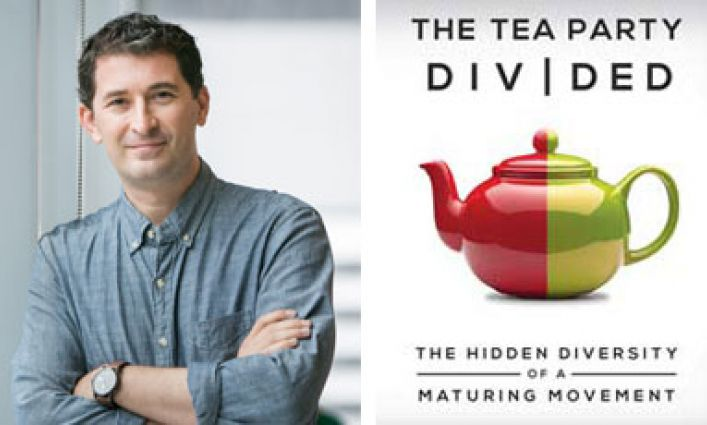 Professor Heath Brown's New Book Examines Origins & Evolution of the Tea Party