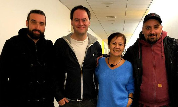 John Jay Students Learn from Award-Winning Chilean Filmmakers