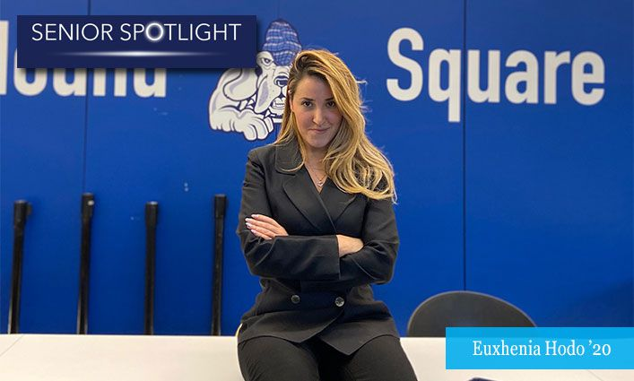Senior Spotlight: Euxhenia Hodo '20 Fighting for the Rights of Immigrants and Women