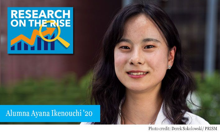Research on the Rise: Ayana Ikenouchi '20 Investigates the Role of DNA in Identifying the Dead and Helping the Living