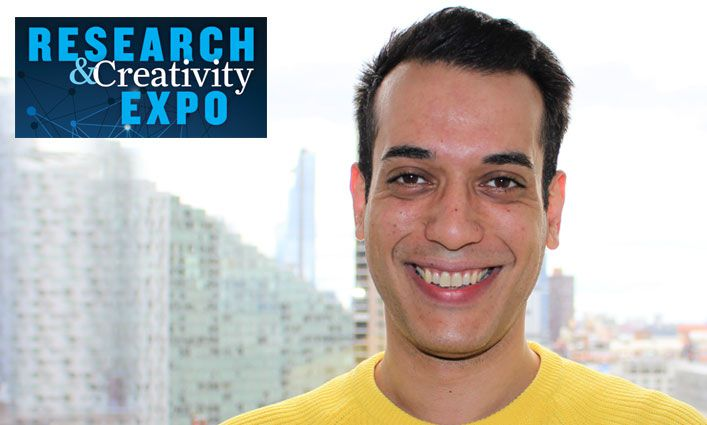 Research and Creativity Expo: Ivan Taurisano '19 Uses Writing to Change Lives