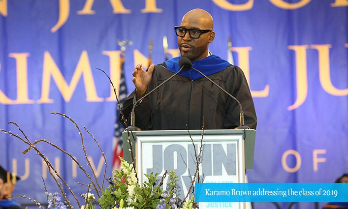 Queer Eye's Karamo Brown Gives John Jay Students His Best Life Advice