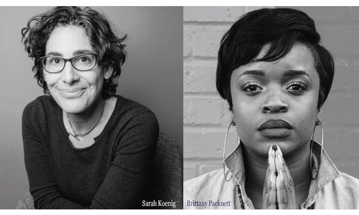Sarah Koenig, Brittany Packnett named 2019 Justice Media Trailblazers by John Jay College of Criminal Justice