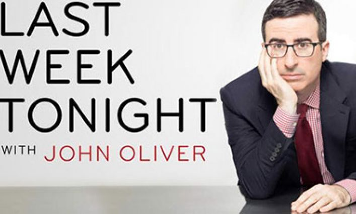 "John Oliver is The Crime Report's ""Person of the Year"""