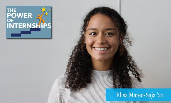 The Power of Internships: Elisa Mateo-Saja '21 Moves Closer to Her Elected Official Dreams Interning with New York State Senator Robert Jackson