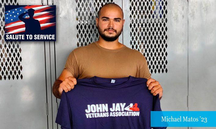Salute to Service: Michael Matos '23, Maritime Enforcement Specialist, United States Coast Guard