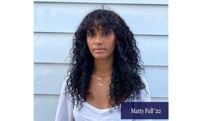 Matty Fall '22 Demonstrates Her Passion for Social Justice by Participating in Black Lives Matter Protests