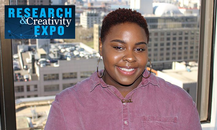 Research and Creativity Expo: Ayanna Miller-Smith '19 Researches and Influences Policy Change