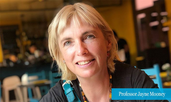 Sociology Professor Jayne Mooney Wins Lifetime Achievement Award for Work in Critical Criminology