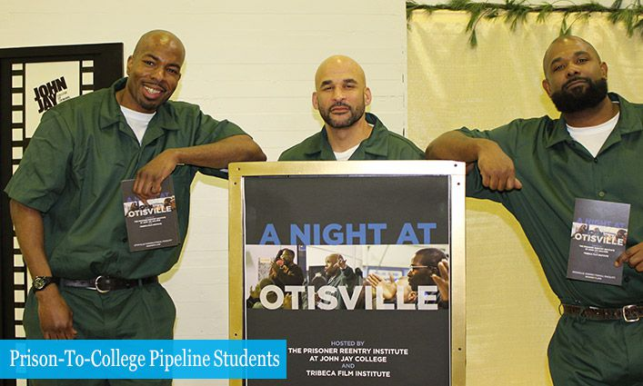 "John Jay's Prisoner Reentry Institute Hosts ""A Night At Otisville"" With Tribeca Film Institute"