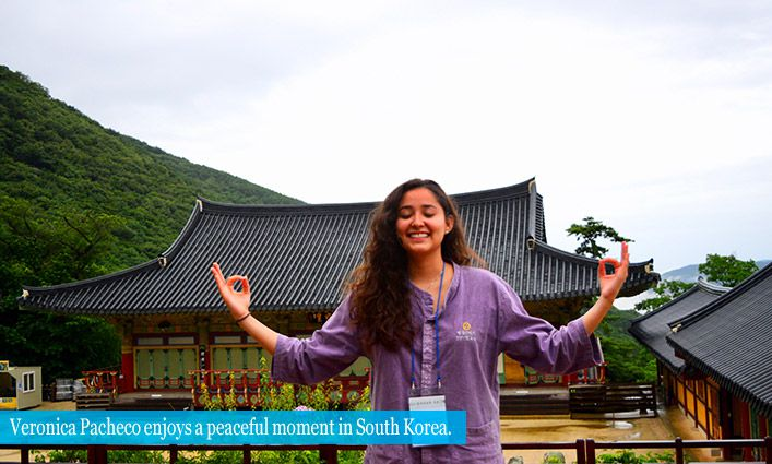 Alumna Veronica Pacheco ('18) Deepens Her Understanding Of the World Through Travel