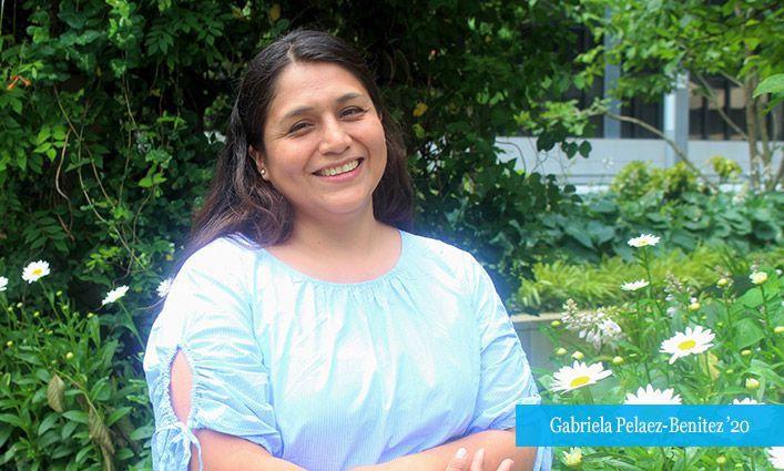 Women's Forum Of New York Recognizes Gabriela Pelaez-Benitez '20 for Pursuing Her Dreams and Continuing Her Education