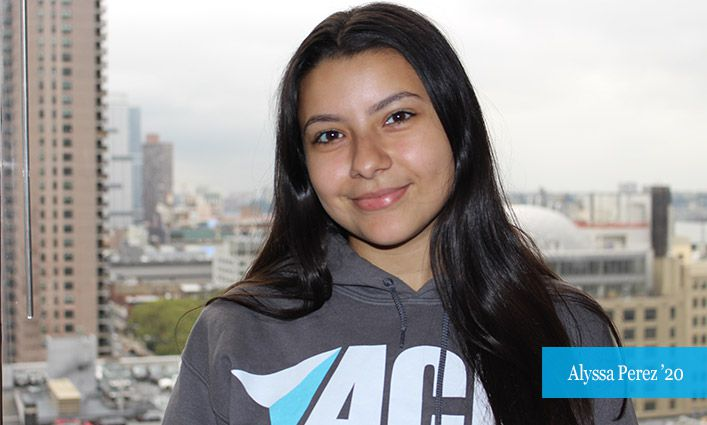 Alyssa Perez '20 Navigates Her John Jay Journey with the Help of ACE