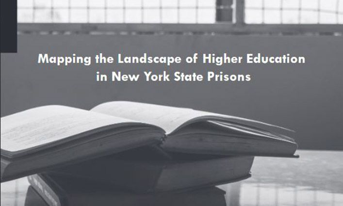 John Jay's Prisoner Reentry Institute Maps State Prison Education Programs