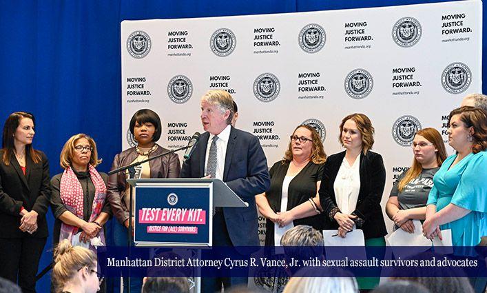 Manhattan DA's Office Announces Sexual Assault Kit Backlog Elimination at John Jay
