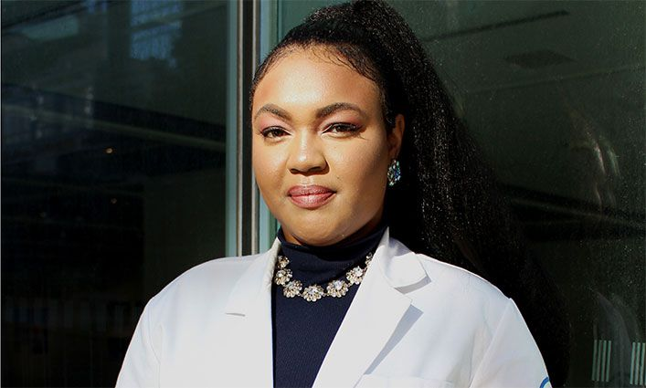 John Jay Alum Renise Baptiste Is Helping Find a Cure to Cancer at Memorial Sloan Kettering Cancer Hospital