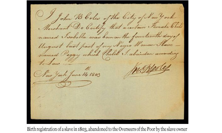 New York State Slavery Records Index Launched by John Jay College