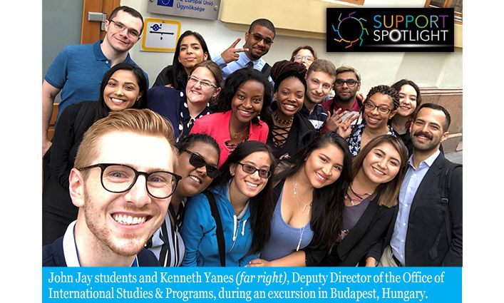 Support Spotlight: The Office of International Studies & Programs Broadens Student's Educational and Life Experiences