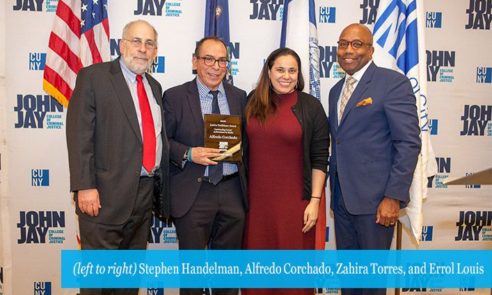 John Jay's Center on Media, Crime and Justice Honors Alfredo Corchado as 2020 Justice Media Trailblazer